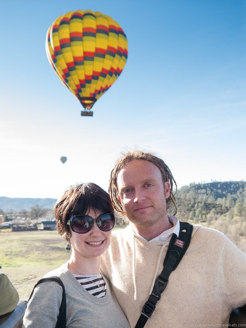 hot air balloon Napa Valley without wine Napa besides wine