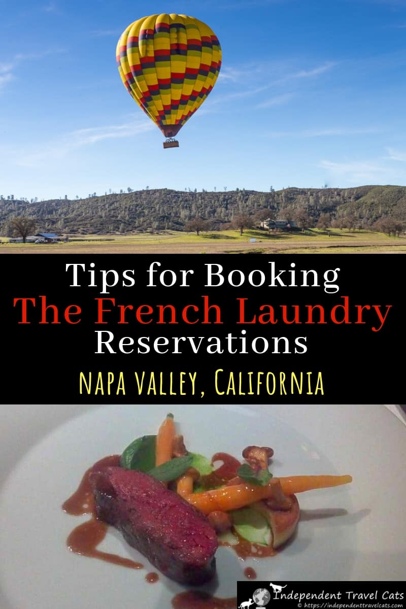 A guide to how to make reservations at The French Laundry, what to do if it is fully booked, how to cancel or exchange your reservations, and advice on where to stay near The French Laundry in Yountville and the Napa Valley California. #TheFrenchLaundry #finedining #Michelinrestaurants #FrenchLaundry #NapaValley #Yountville