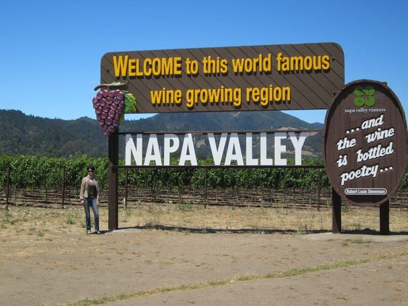 Napa Valley without wine