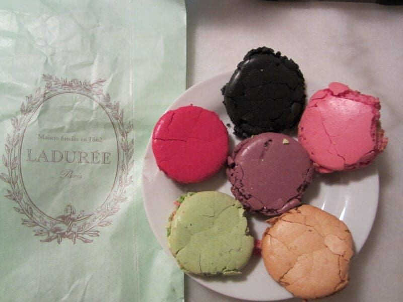 French macarons from Laduree Paris Ladurée