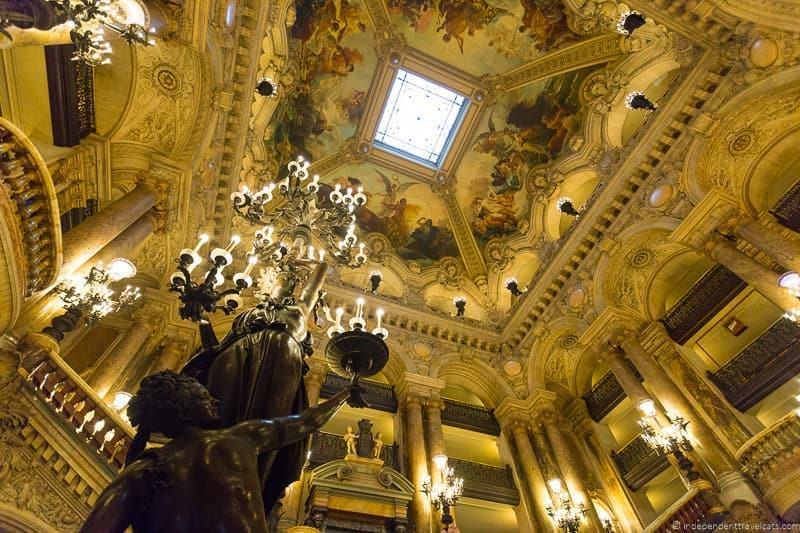 attending the Paris Opera Garnier Palais Garnier