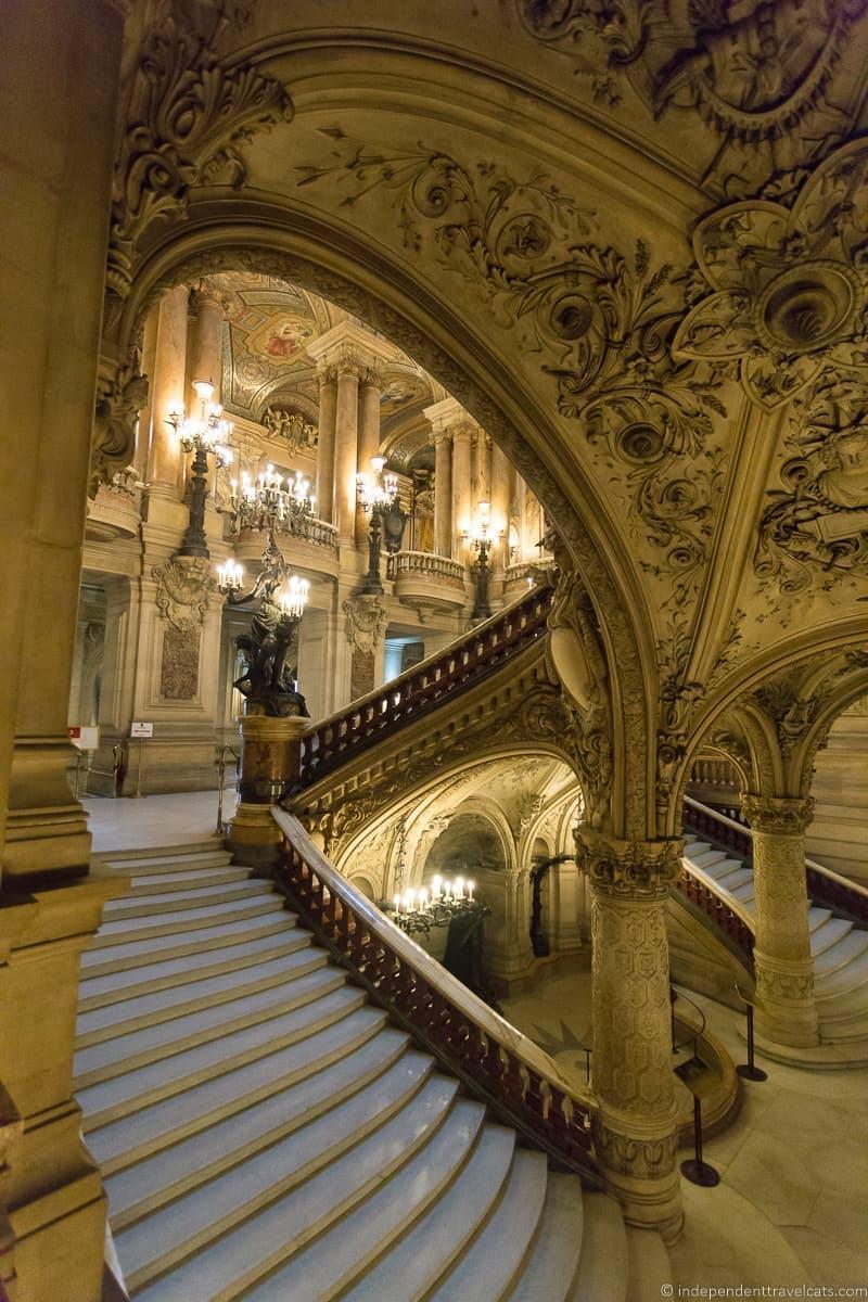 attending the Paris Opera Garnier