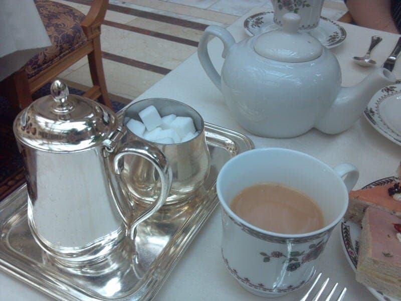 San Francisco tea Palace Hotel tea