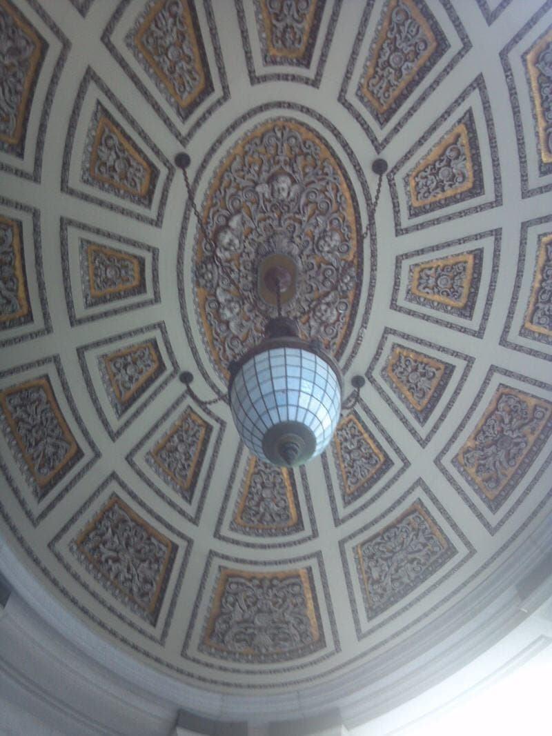 Wells Fargo bank ceiling San Francisco