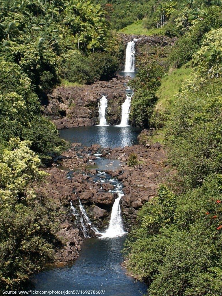 Top Waterfalls On The Big Island Of Hawaii A Big Island