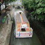 Saint Martin canal boat