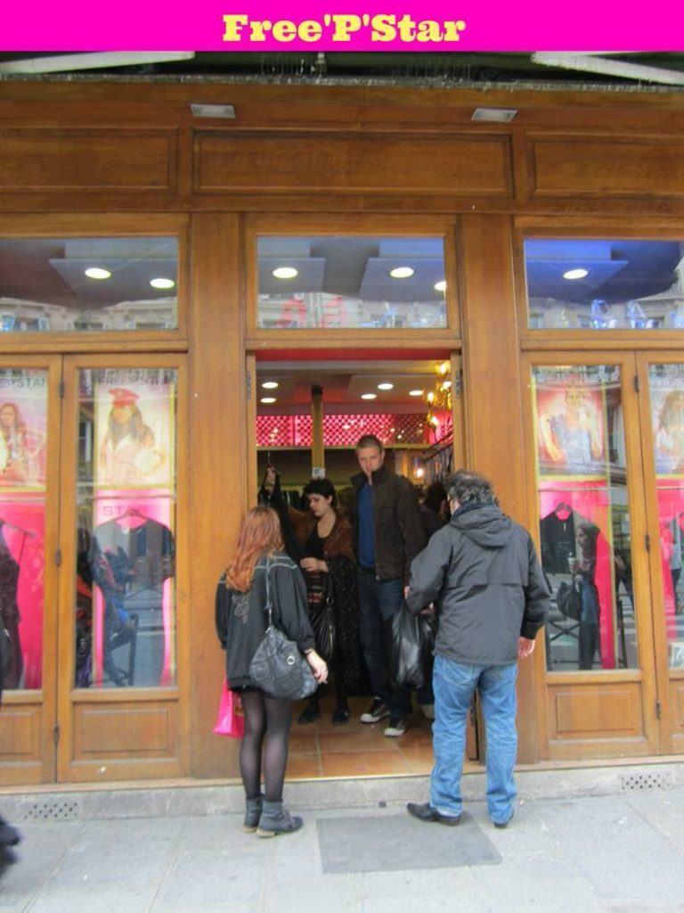 Free'P'Star free p star  vintage clothing in Paris