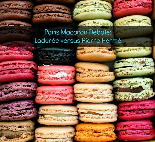Ladurée versus Pierre Hermé macarons Laduree Pierre Herme Paris macaroons