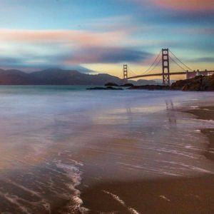 Sunset at Baker Beach in San Francisco After 5 yearshellip