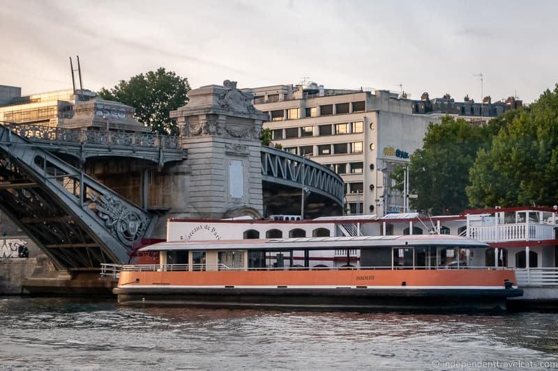 Seine River boat cruises Bateaux de Paris Insolite boat