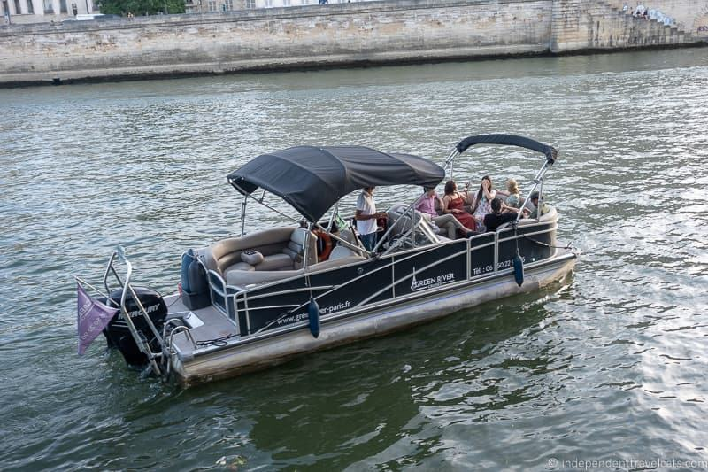 Green River Cruises private Seine River boat cruises