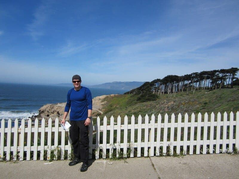 hiking at Lands End