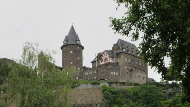 Jugendherberge Burg Stahleck in Bacharach, Germany