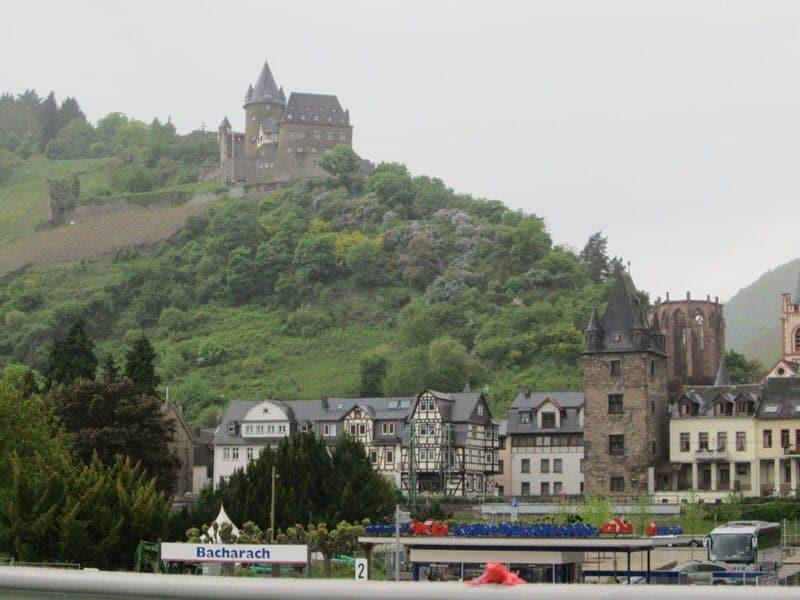 Jugendherberge Burg Stahleck in Bacharach Germany