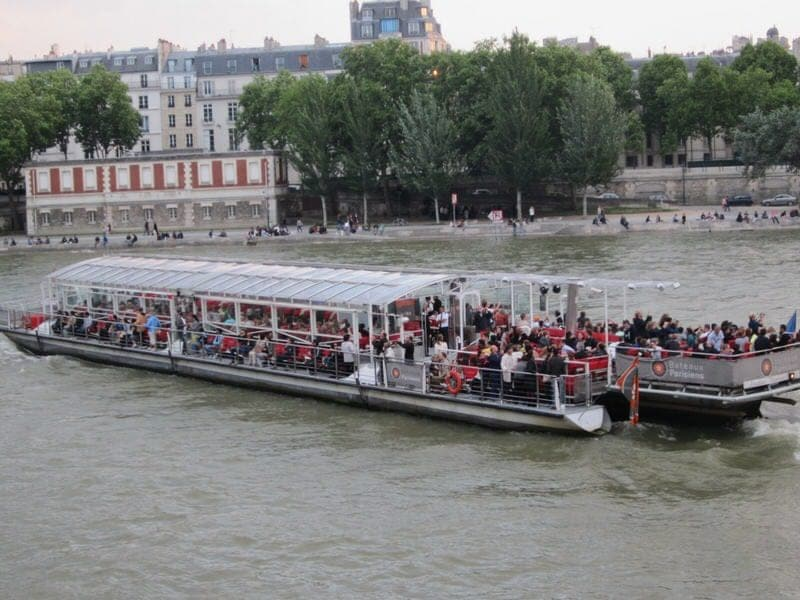 Seine cruise Paris