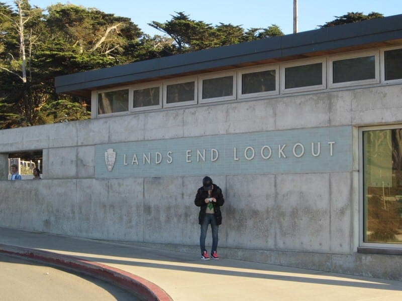 hiking at Lands End San Francisco