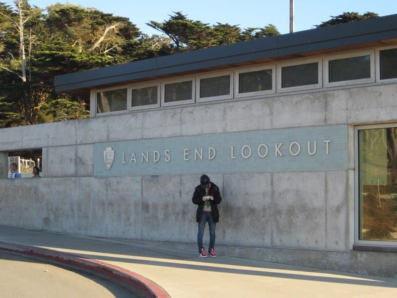 hiking at Lands End San Francisco