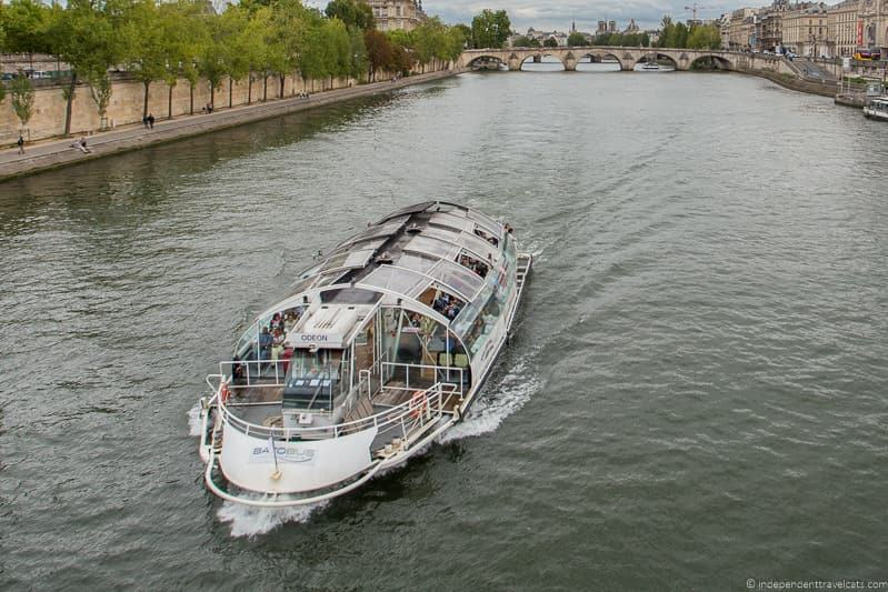 Batobus Seine Cruise