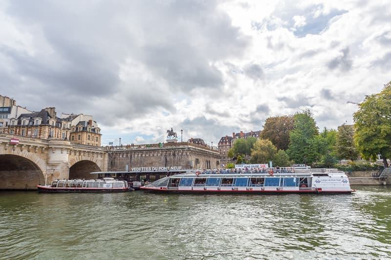 Paris Seine cruise