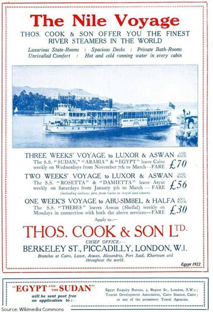 Thomas Cook Thomas Cook & Son travel history