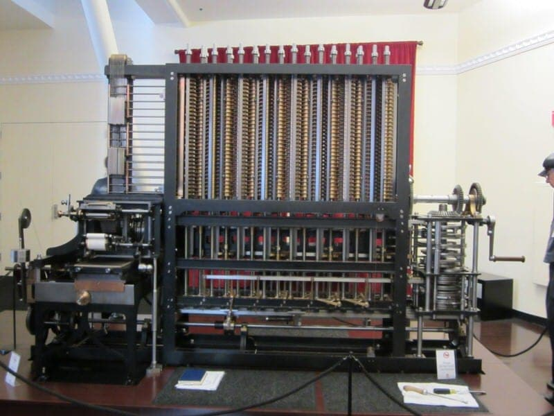 Computer History Museum Babbage Difference Engine No 2