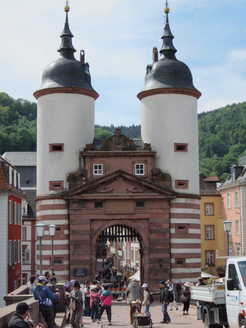Philosophenweg Philosophers Walk in Heidelberg Philosophers' Way Heidelberg Germany