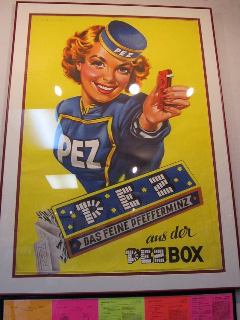 PEZ Museum Burlingame Museum of PEZ Memorabilia California