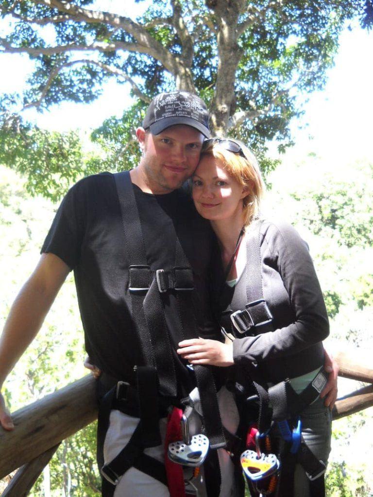 ziplining on the Big Island of Hawaii best zip line big island