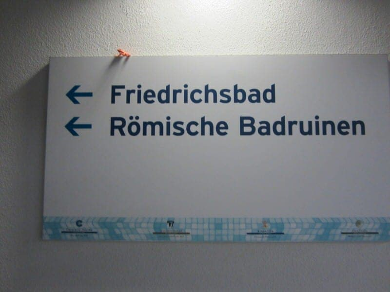 Friedrichsbad baths in Baden Baden naked spa irish roman bath Baden-Baden