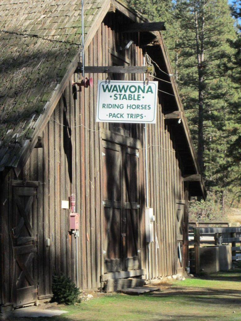 Yosemite National Park Wawona southern south entrance