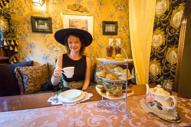 Cost St James Tea Room