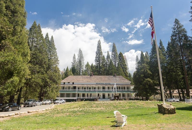 Big Trees Lodge Yosemite National Park Wawona southern south entrance
