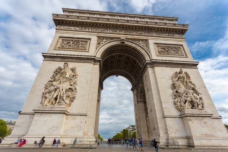 Arc de Triomphe Paris Museum Pass review is it worth it