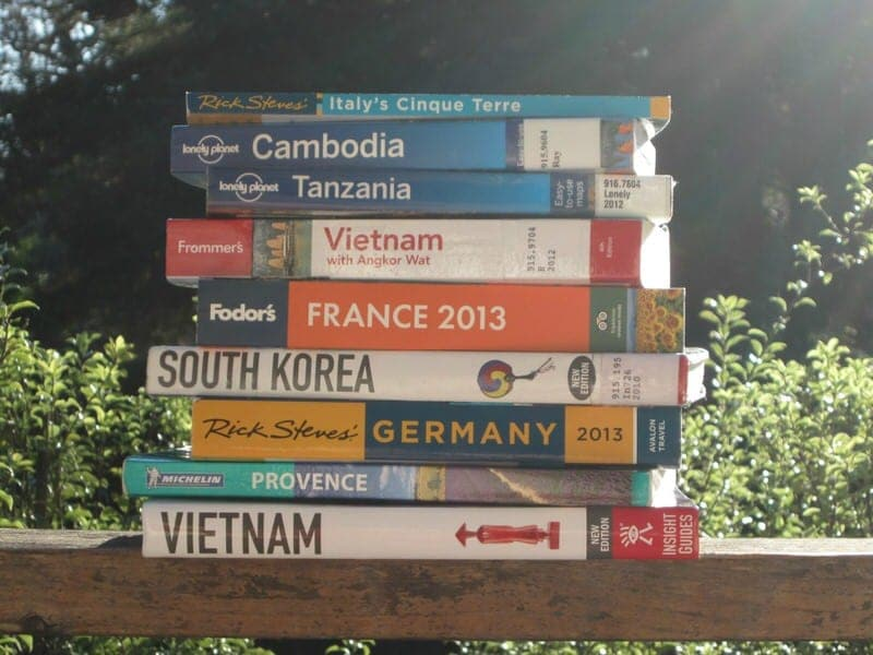 best travel guidebooks
