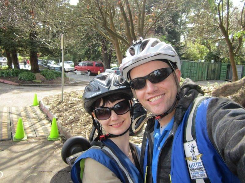 Segway tour in San Francisco best segway tours San Francisco Electric Tour Company segway rides