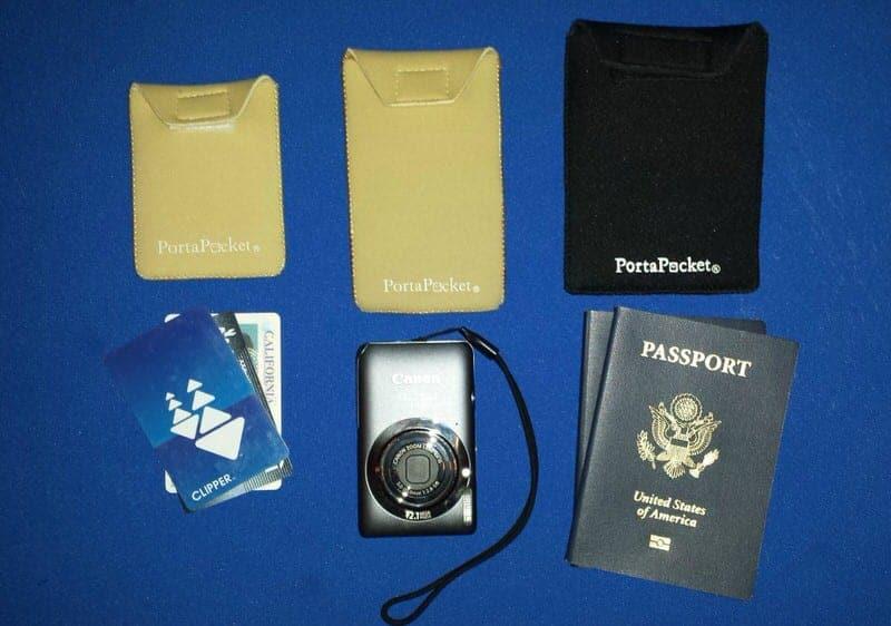 PortaPocket travel pocket travel pouch travel strap travel safety pocket blog review