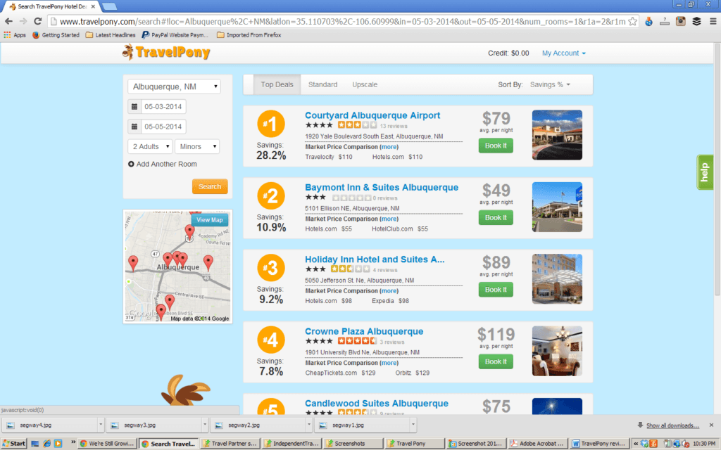 TravelPony hotel booking website how to save money on hotels