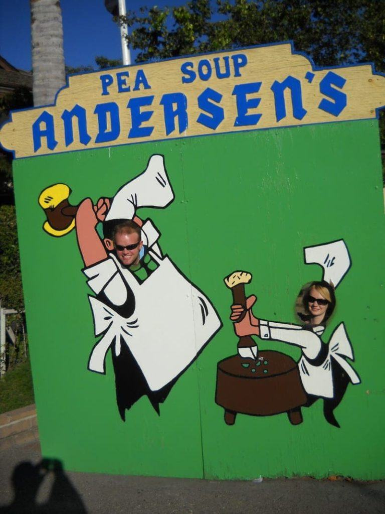 Pea Soup Andersen's restaurant Pea Soup Andersens Buellton California review near Solvang