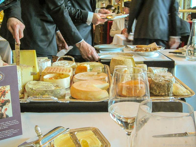 Le Grand Véfour cheese cart best restaurants in Paris for lunch Michelin starred restaurants in Paris France