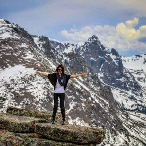 Exploring the Rocky Mountain National Park!Yesterday we got caught inhellip
