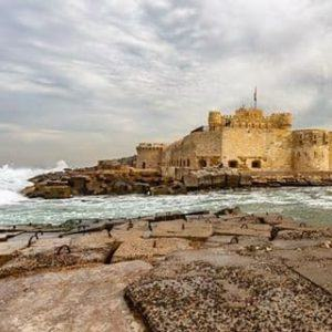 The Citadel of Qaitbay in Alexandria Egypt! We spent ahellip