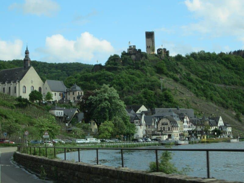 the tiny town of beilstein germany: the sleeping beauty along the