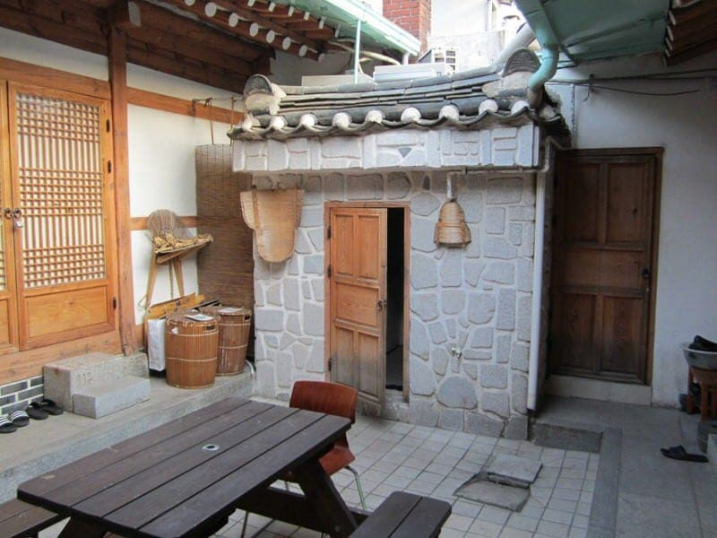 hanok houses in Seoul South Korea hanok guesthouses