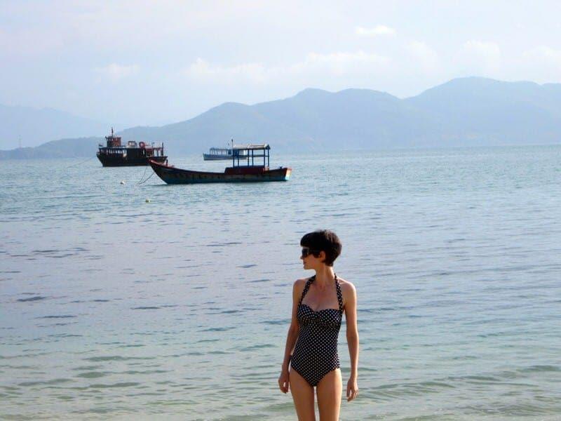 UjENA Swimwear review one piece swimsuit travel swimwear traveling bathing suits
