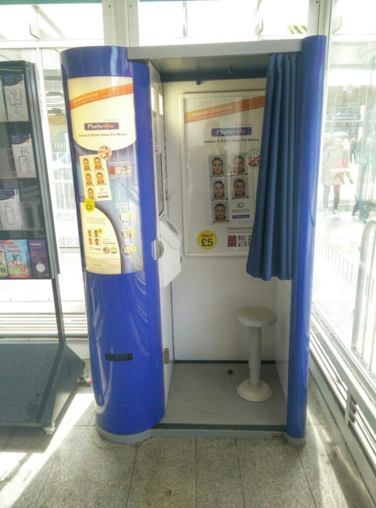 photo booth in London UK