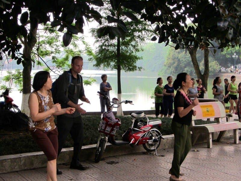 Footprint Travel Hanoi Vietnam tour morning things to do in Hanoi