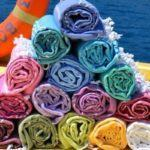 Dreaming of Turkey: Colorful Turkish Hammam Towels from sorbet ltd
