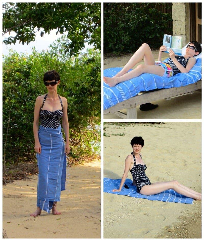 sorbet ltd turkish hammam towels The Beach Towel Clip review