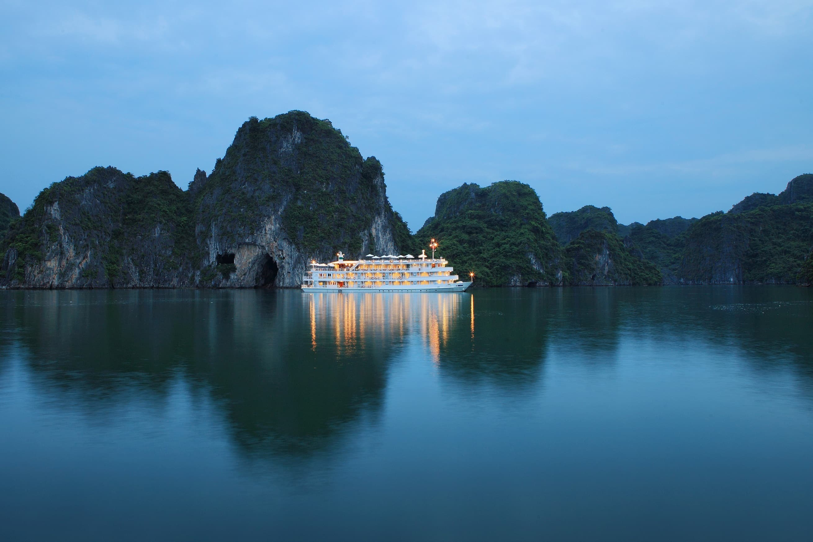 The Au Co Halong Bay Cruise in Vietnam