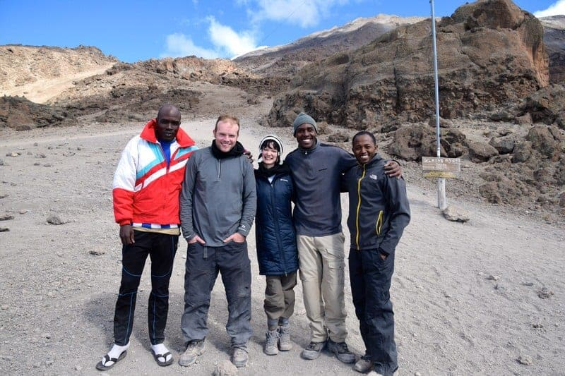 Mount Kilimanjaro Mt. Kilimanjaro Climb for Sight Vision for the Poor charity climb Kili